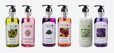 Flora & Fruit Garden Essential Body Cleanser