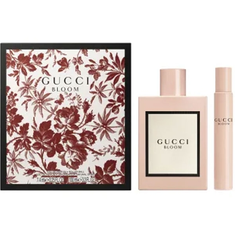 Gift Set Gucci Bloom 2pc 100ml + 7.4ml