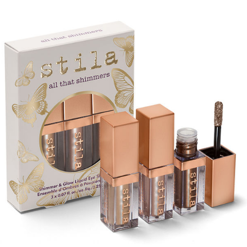 Set Nhũ Mắt Stila Shimmer & Glow Liquid Eye Shadow - All That Shimmers