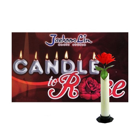 Candle to rose