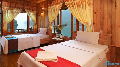 Catba Sandy Beach resort 3 days via Haiphong