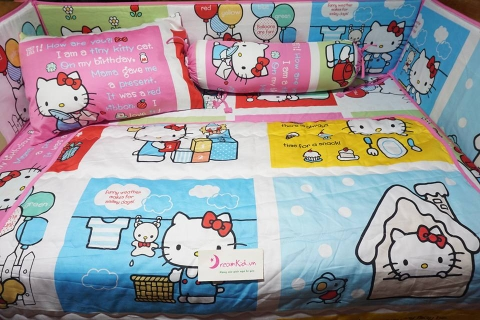QUÂY CŨI HELLO KITTY 04 -MS 227