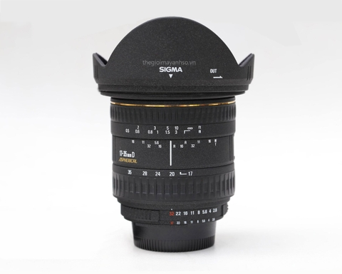 Sigma 17-35mm F2.8-4 EX DG Aspherical for Nikon