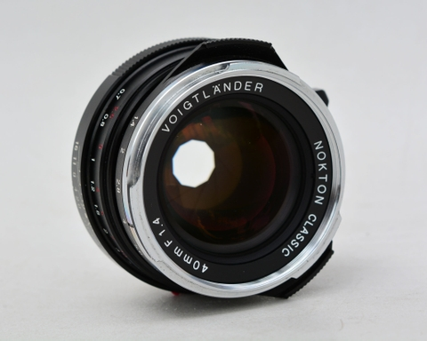Voigtlander Nokton Classic 40mm F1.4 for Leica M