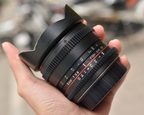 Rokinon 8mm T3.8 Cine Fisheye CS for Canon