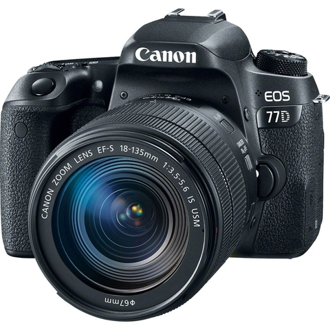 Canon EOS 77D + Kit 18-135mm IS STM