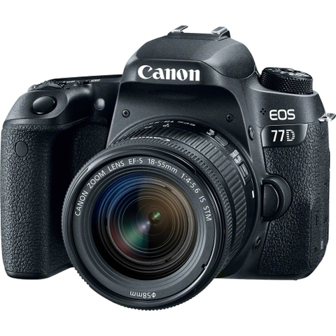 Canon EOS 77D + Kit 18-55mm STM
