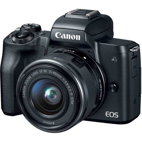 Canon EOS M50 + Kit 15-45mm (Black)