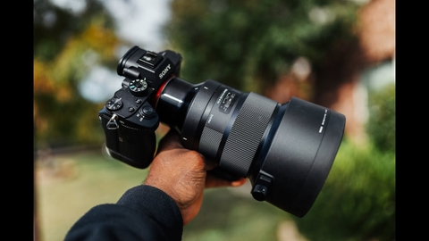 Sigma 105mm f/1.4 DG HSM Art for Sony E