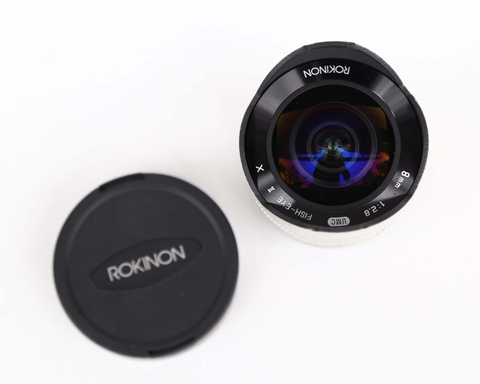 Rokinon 8mm f/2.8 UMC Fisheye II Lens for Sony E