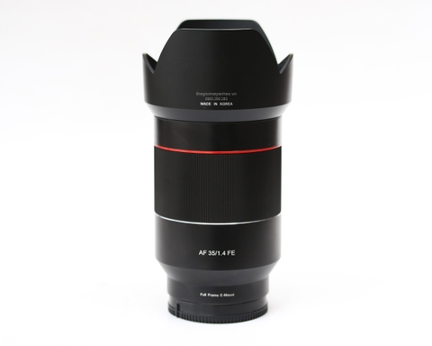 Samyang AF 35mm f/1.4 FE For Sony