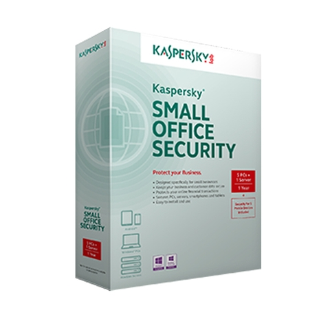 Kaspersky Small Office Security 10PC +  01File Server