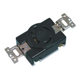 Ổ CẮM LOCKING WF2420BK - 250V - 20A - 3P + Ground .Model WF2420BK