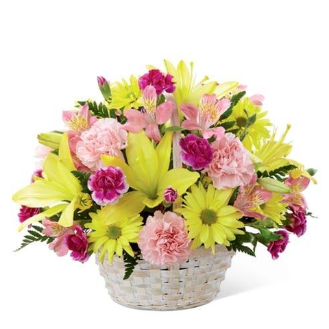 The FTD® Basket of Cheer® Bouquet - CF122