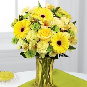 The FTD® Lemon Groove™ Bouquet -  CF110