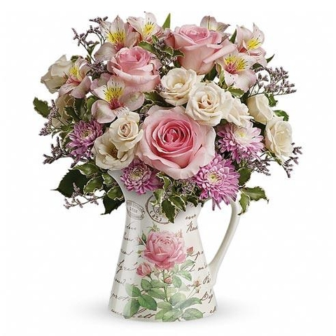 Labor Of Love Spring Roses Bouquet - SF114