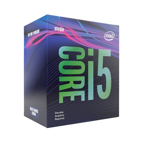 CPU Intel Core i5-9400F (2.9GHz Turbo 4.1GHz, 6 nhân 6 luồng, 9MB Cache, 65W) - Socket Intel LGA 1151-v2