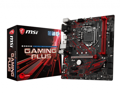 Mainboard MSI B360 Gaming Plus (Socket 1151 v2)
