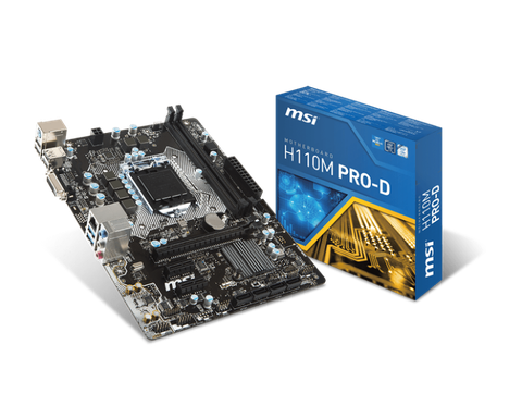 Mainboard MSI H110 Pro-D