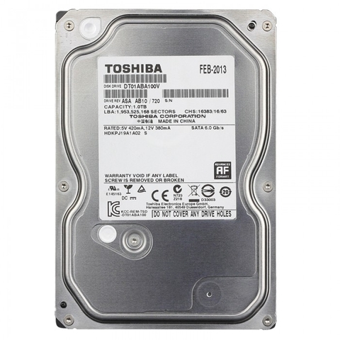 HDD Toshiba 1TB - SaTa 3 ( PC )