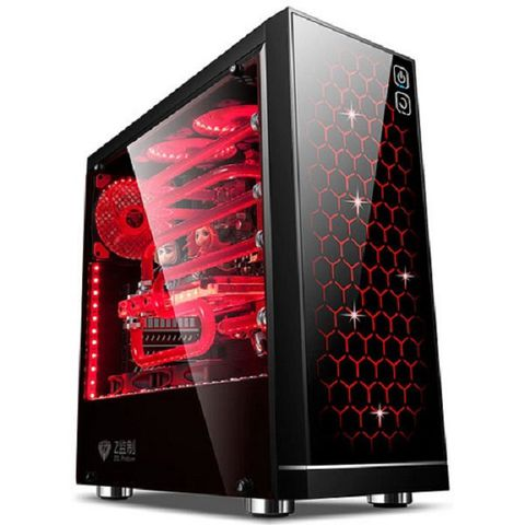 Case Golden Field Z3 eSport 21+ (Mid Tower / 6 slot fan 120mm / RGB LED / Black)