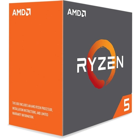 CPU AMD Ryzen 5 1500x 3.5 GHz (Up to 3.7GHz) / 4 cores 8 threats / socket AM4