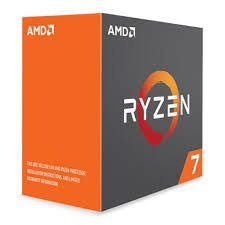 CPU AMD Ryzen 7 1700x 3.4 GHz (Up to 3.8GHz) / 20MB / 8 cores 16 threats / socket AM4