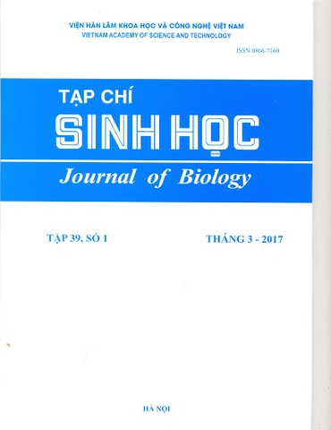 Journal of Biology (Sinh học song ngữ Anh - Việt)