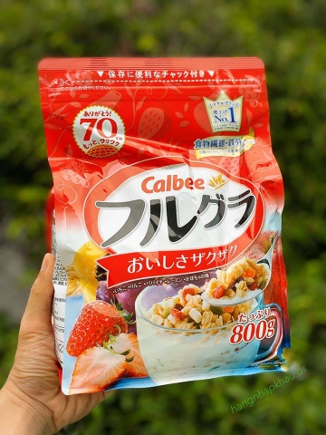 Ngũ cốc Calbee 800g - MADE IN JAPAN.