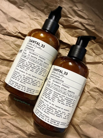 Combo Gội Xả Le Labo Santal 33 (2x237ml) - MADE IN CANADA.