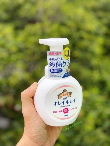 Soap rửa tay diệt khuẩn Lion 250ml - MADE IN JAPAN.