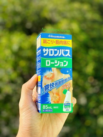 Dầu xoa bóp Salonpas 85ml - MADE IN JAPAN