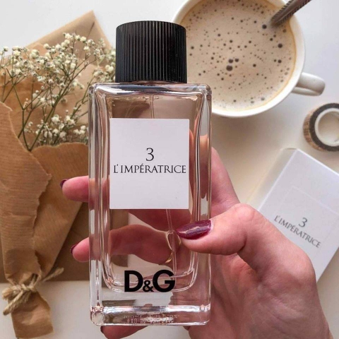 D&G L'imperatrice 3 Pour Femme EDT 100ml - MADE IN FRANCE.