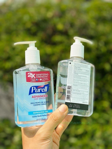 GEL DIỆT KHUẨN PURELL 236ML - MADE IN USA