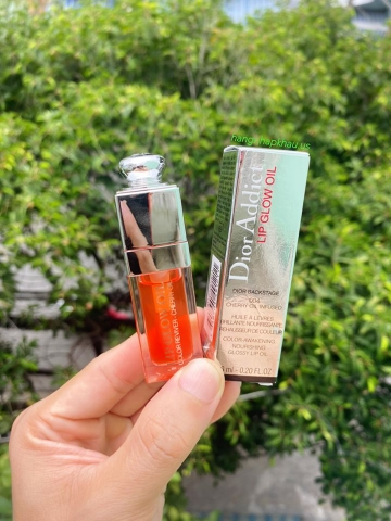 Dior Lip Glow Oil 004 Coral - MADE IN FRANCE.