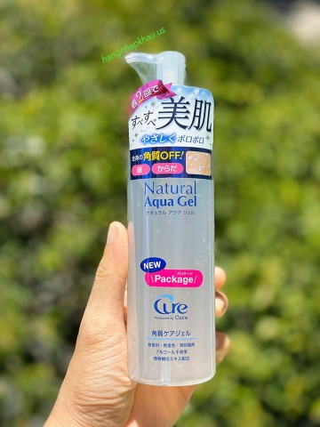 Tẩy da chết toàn thân Cure Nature Aqua Gel 250ml - MADE IN JAPAN.