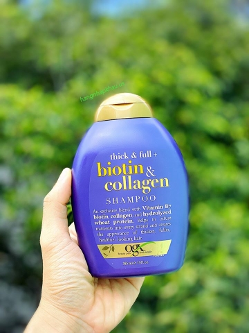 Dầu gội OGX Biotin & Collagen 385ml - MADE IN USA.