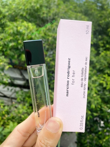 Narciso Rodriguez For Her EDT 10ml - MADE IN FRANCE.