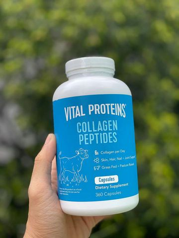 Vital Proteins Collagen Peptides (360 viên) - MADE IN USA.