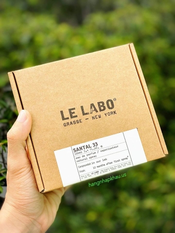 Le Labo Santal 33 EDP (100ml) - MADE IN USA.