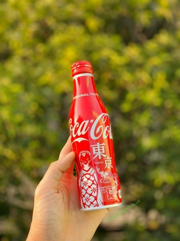 Coca Cola Special Edition TOKYO (250ml) - MADE IN JAPAN.