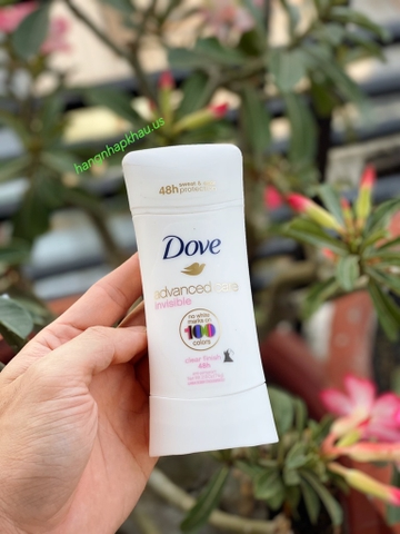 Lăn sáp Dove Advanced Care Invisible 74gr - MADE IN USA.