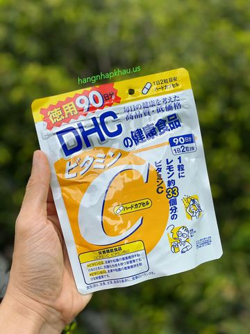Vitamin C DHC (180 viên) - MADE IN JAPAN.