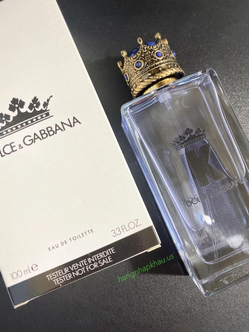 Dolce & Gabbana K EDT 100ml TESTER -  MADE IN FRANCE.