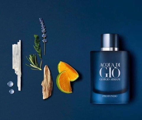 Giorgio Armani Acqua Di Gio Profondo EDP 75ml - MADE IN FRANCE.