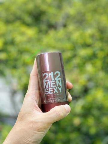 Lăn khử mùi Carolina Herrera 212 Sexy Men 75g - MADE IN FRANCE.