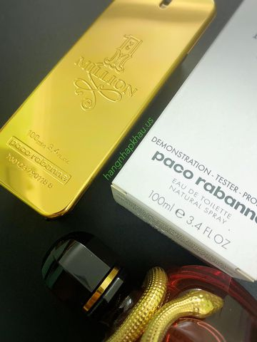 Paco Rabanne One Million EDT 100ml - MADE IN FRANCE.