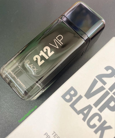 Carolina Herrera 212 VIP Black EDP 100ml TESTER - MADE IN SPAIN.
