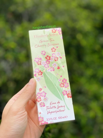 Elizabeth Arden Green Tea Cherry Blossom EDT 100ml - MADE IN SPAIN.