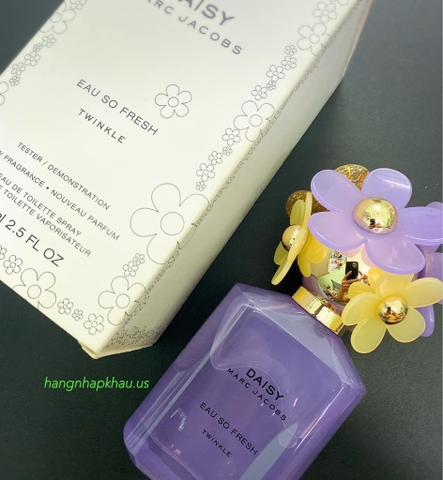 Daisy Marc jacobs Eau So Fresh Twinkle EDT 75ml TESTER (Phiên bản giới hạn) - MADE IN FRANCE.